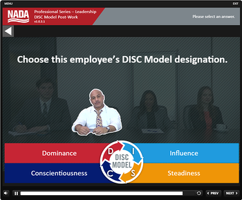 NADA DISC Module Screenshot