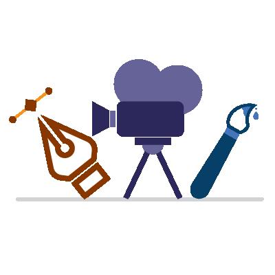 Media - Graphic design, video, art